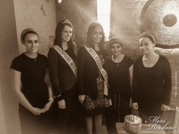 Miss Roubaix au hammam spa Azhar, Roubaix