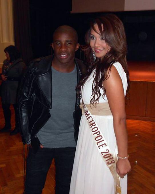 Miss Roubaix Métropole et Rio Mavuba