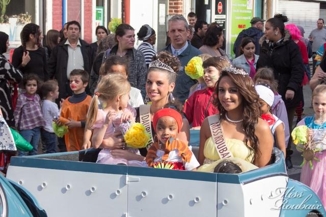 Miss Roubaix au Grand Carnaval de Roubaix