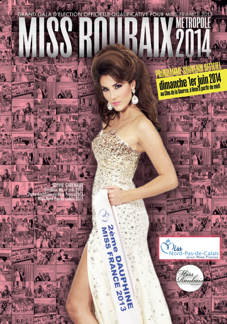 Brochure Miss Roubaix Métropole 2014