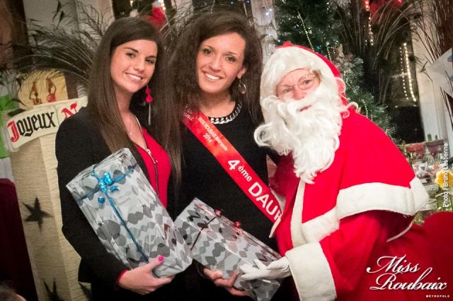 le père Noël et les Miss Roubaix !